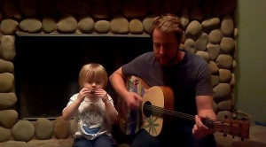 """This 3- Year- Old Singing """"Love Me Do"""" With His Dad Will Complete Your Life"""