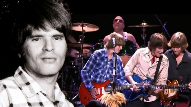 """John Fogerty Plays Fast-Paced """"Up Around The Bend"""" With Sons, Shane and Tyler, And It's So Special 