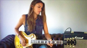 """Slash Who? She Gives Slash A Run For His Money With Killer """"Sweet Child O' Mine"""" Guitar Solo"""