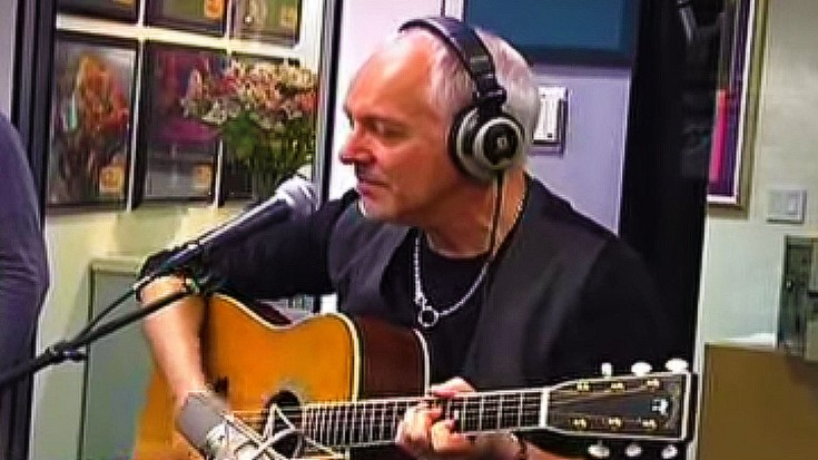 "Peter Frampton's Dreamy Acoustic Take On ""Baby, I Love Your Way"" 