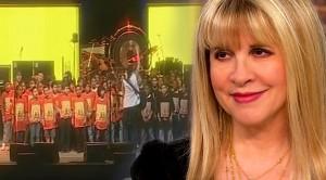 "Schoolkids Stun Stevie Nicks Into Silence With Unbelievable ""Landslide"" Performance"