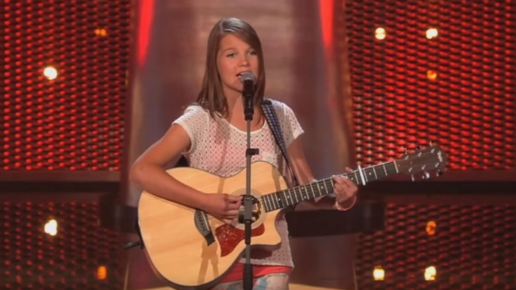The Voice Kids Blind Auditions Nikki Sings Sweet Child