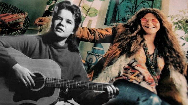 Janis Joplin's First Ever Recorded Song, At Only 19 Years Old | Society Of Rock Videos