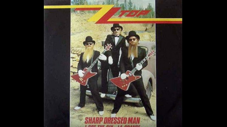"ZZ's Rare, Altered ""Sharp Dressed Man"" Promo Will Take You Back To 1983 