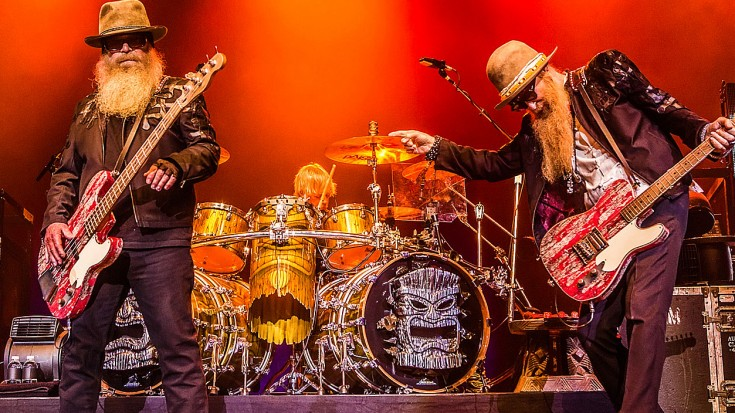 """Caught On Camera: ZZ Top Bring """"La Grange"""" To La Grange, Texas For The First Time EVER! 