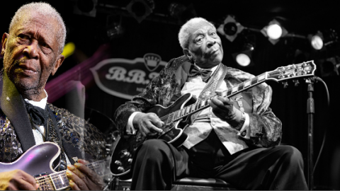 """B.B. King Mesmerizes Audience With """"Blues Man""""   Society Of Rock Videos"""