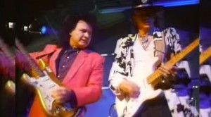 "Flashback: Dick Dale And Stevie Ray Vaughan Team Up For Explosive ""Pipeline"" Guitar Jam"