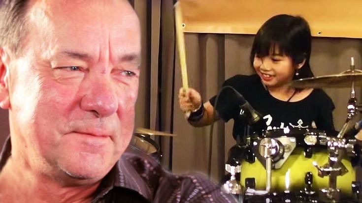 "10-Year-Old Girl Performs Epic Cover Of Rush's ""La Villa Strangiato"" | Society Of Rock Videos"