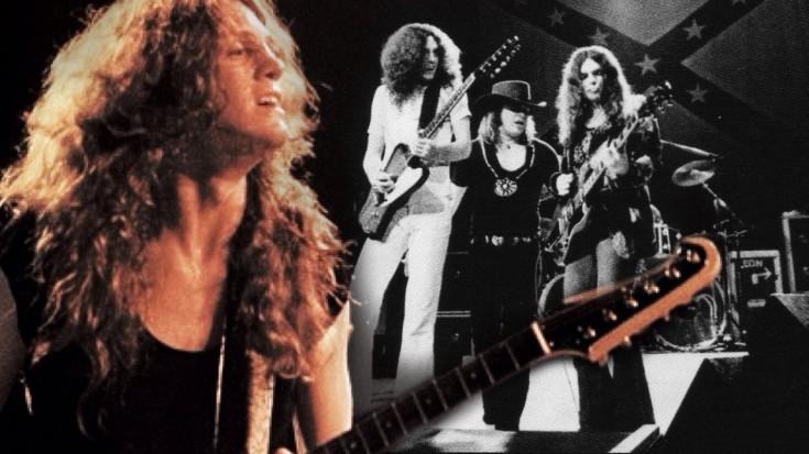 "Lynyrd Skynyrd Guitarist Allen Collins Is The Greatest In Rare ""Freebird"" Footage | Society Of Rock Videos"