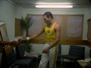 Before Going On Stage, Freddie Mercury Was Caught Doing THIS….