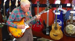 81-Year-Old Grandpa Walks Into Music Store, Plugs In Guitar – What Happens Next Leaves Staff's Jaws On Ground