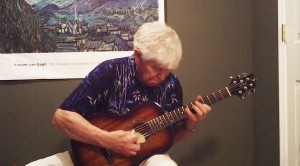 81-Year-Old Grandpa Picks Up Acoustic Guitar, I Can't Believe What Happens Next