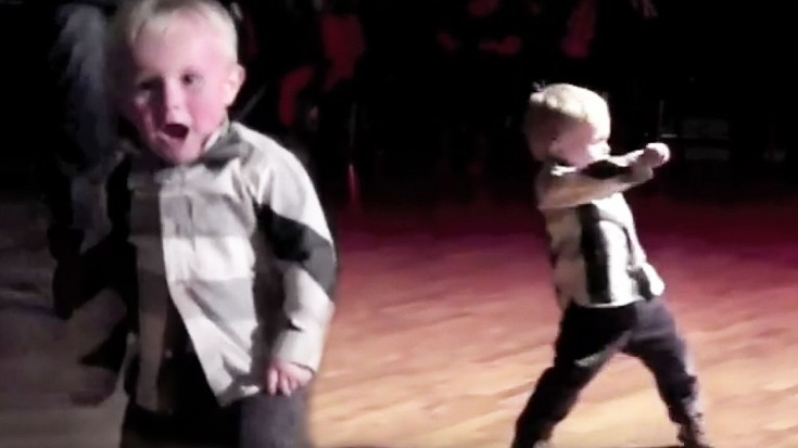 Year old dancing to jailhouse rock is the cutest thing you