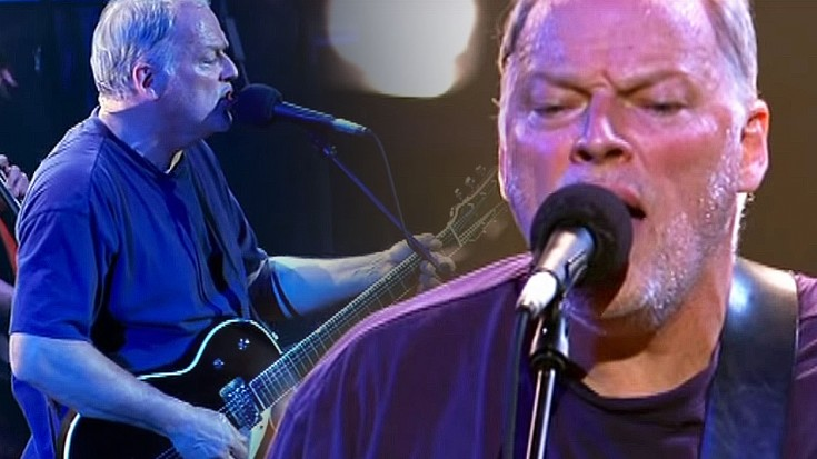 Resultado de imagen de Shine On You Crazy Diamond, Pink Floyd - David Gilmour