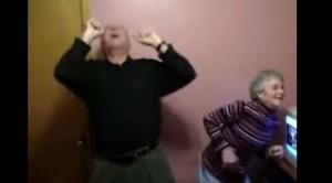 He Puts On Heavy Metal, Grandparents' Reaction HILARIOUS!!