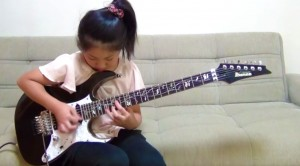 Little Girl Picks Up Guitar, But I Wasn't Expecting What Happened Next
