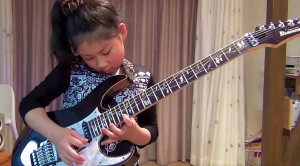 Little Girl Plugs In Guitar, But I Wasn't Expecting What Happened Next