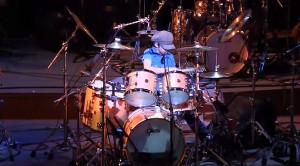 10-Year-Old Boy Sits Behind Drum Kit, What He Does Next Is Unbelievable