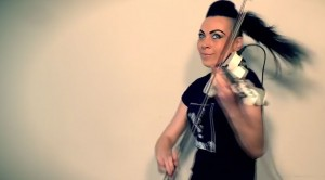 What She Can Do With The Violin Will AMAZE You, She Crushes This Joan Jett Classic!