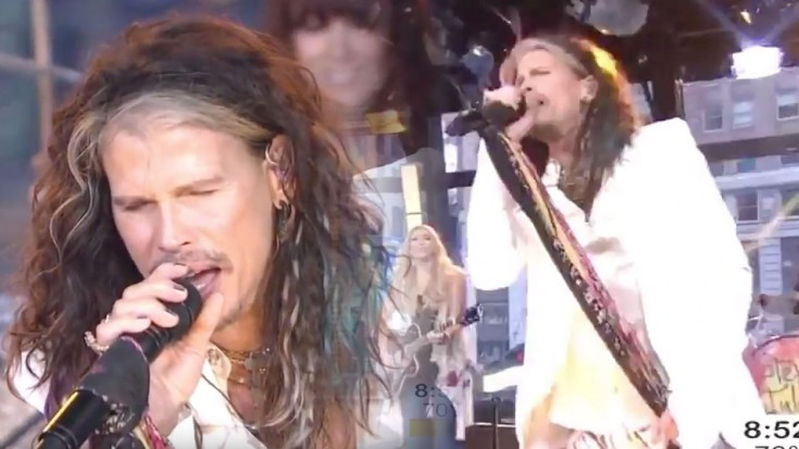 """Steven Tyler's AWESOME Live Performance of """"Love Is Your"""