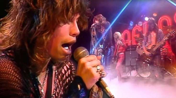 "Hear 26-Year-Old Steven Tyler's NATURAL Voice In 1974 ""Dream On"" Performance 