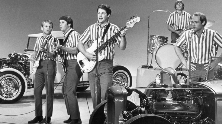 "The Beach Boys Battle Beatlemania With ""I Get Around,"" And The Crowd Goes Wild! 