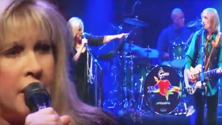 "Stevie Nicks & Tom Petty Play ""Stop Draggin' My Heart Around"" For First Time In 30 Years 