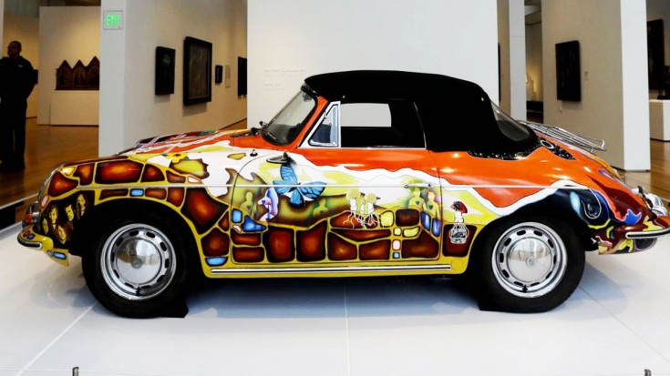 janis joplin 1965 porsche just sold you won t believe for how much society of rock. Black Bedroom Furniture Sets. Home Design Ideas