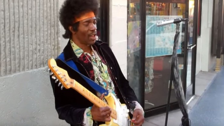 We Might Have Found Jimi Hendrix Still Alive And Performing | Society Of Rock Videos