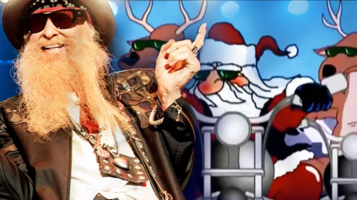 "Billy Gibbons & Friends Rock Out ""Run Rudolph Run"" With Southern Style And You'll Love It 