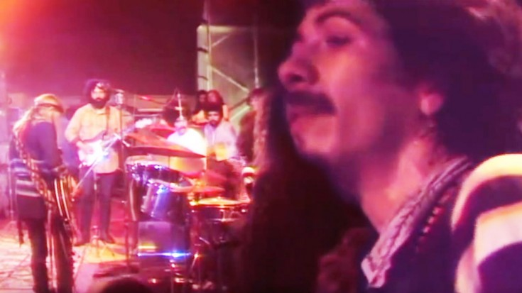 Santana, Jefferson Airplane & Others Share Rare, All Star Jam, 1970 | Society Of Rock Videos