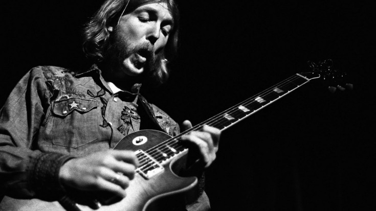 """The Allman Brothers Band's Duane Allman Is Electrifying On """"In Memory Of Elizabeth Reed"""" 