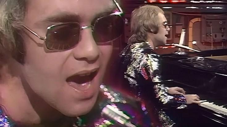 Elton John Tiny Dancer Live On The Ogwt The Fat