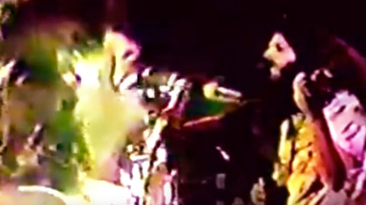 """Kansas Gets Funky In Fast Paced """"Point Of Know Return"""" Performance, 1978 