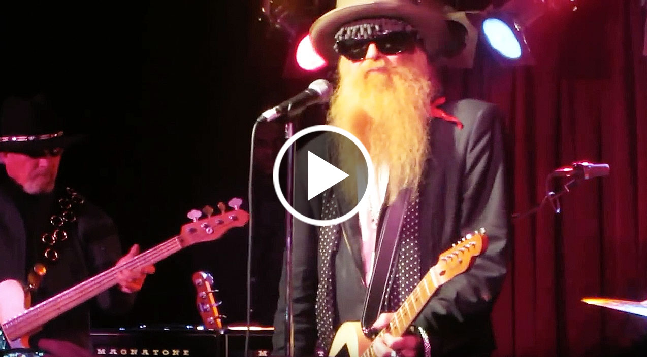 First time in 40 years billy gibbons plays 99th floor for Moving sidewalks 99th floor