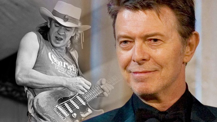 """Stevie Ray Vaughan Unites With David Bowie, Breathes New Life Into """"Heroes"""" 