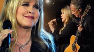 """Stevie Nicks + Lindsey Buckingham Perform """"Landslide,"""" And Their Chemistry Is Unbelievable"""