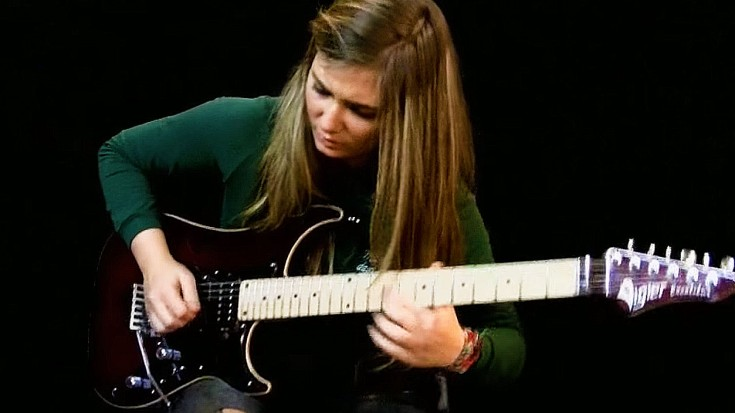16 year old tina shreds steve vai s for the love of god and it s amazing society of rock. Black Bedroom Furniture Sets. Home Design Ideas