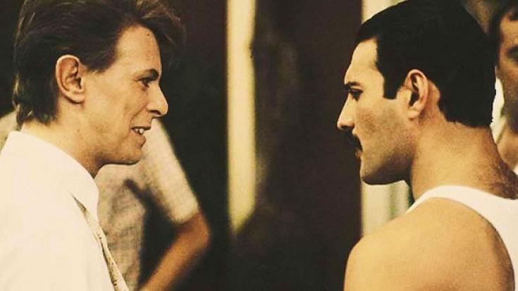 "Hear Legends David Bowie + Freddie Mercury Sing ""Under Pressure"" A Cappella | Society Of Rock Videos"