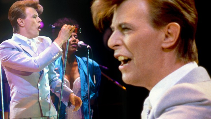"""Relive The Magic Of Music Legend David Bowie With """"Heroes,"""" Live At Live Aid 