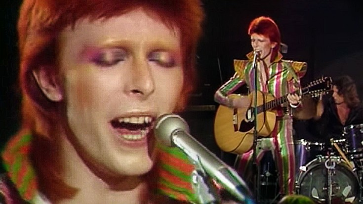 David Bowie Makes Final Appearance As Ziggy Stardust For