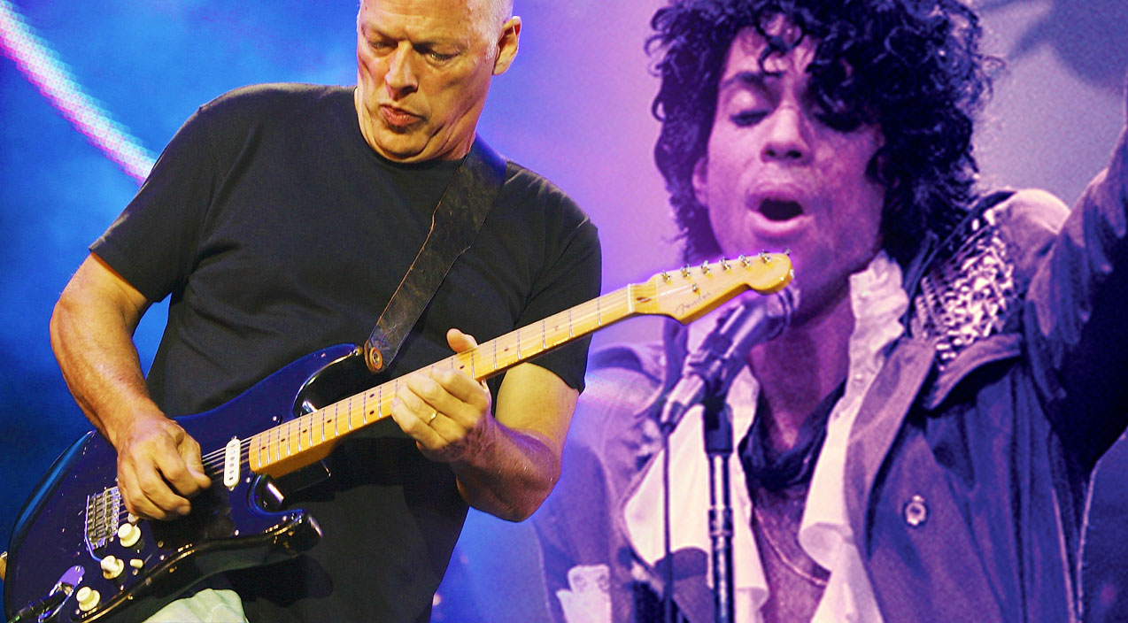"""""""Purple Rain"""" Goes Pink: You Won't Believe What David Gilmour Does With This Prince Classic"""