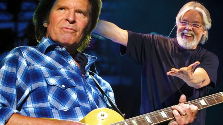 """Rock Legends John Fogerty And Bob Seger Come Together On """"Who'll Stop The Rain"""" 