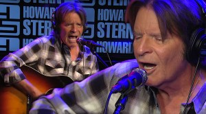 "John Fogerty Rocks The Howard Stern Show With Acoustic ""Have You Ever Seen The Rain"""