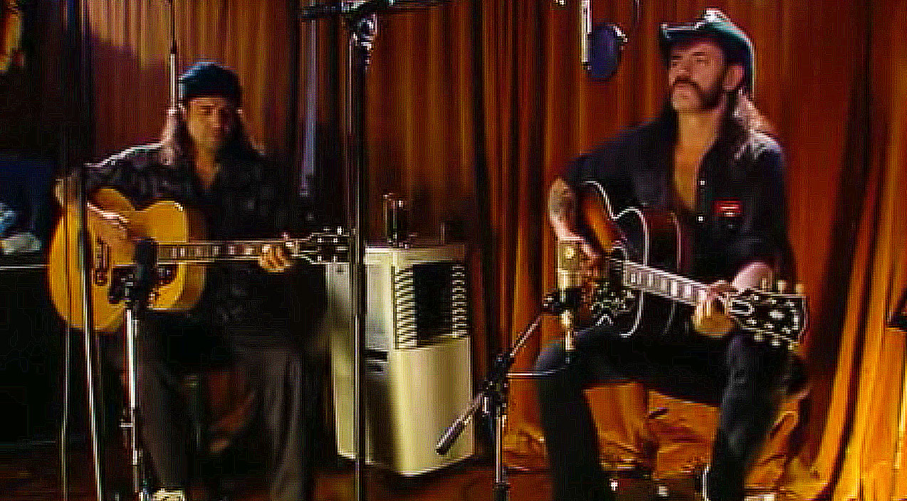 """If You Haven't Heard Lemmy Kilmister's Acoustic Spin On """"Ace"""