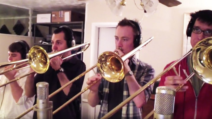 "This Trombone Quartet's ""Carry On Wayward Son"" Will Give You Chills 