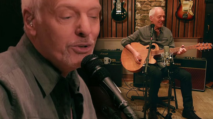 "Frampton Conquers Fear, Triumphs With Stunning Acoustic Take On ""Do You Feel Like I Do"" 