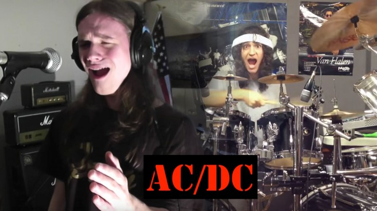 These 2 Friends Play AC/DC And Absolutely Slay It! I'm Impressed BIG TIME | Society Of Rock Videos