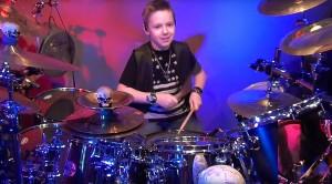 9-Year-Old Drum Sensation Channels Tommy Lee For Killer Mötley Crüe Cover