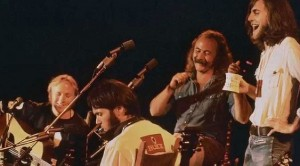 "CSNY's 1974 Reunion Performance Of ""Old Man"" Is Everything A Real Fan Could Ever Want"